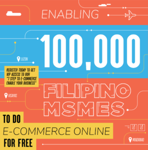 Enabling 100,000 Filipino MSMES to do E-Commerce ONLINE for FREE